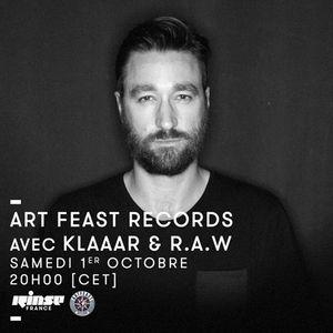 Art Feast avec KLAAAR & R.A.W  - 01 Octobre 2016