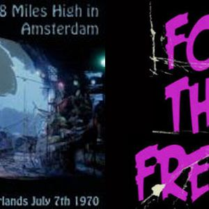 FOR THE FREAKS - THE BYRDS CONCERTGEBOUW AMSTERDAM 07-07-1970