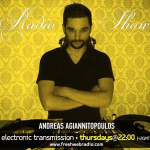 Andreas Agiannitopoulos (Electronic Transmission) Radio Show 03 Feb @ Freshwebradio_42