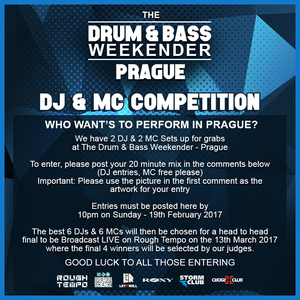 DRUM AND BASS WEEKENDER 2017 COMPETITION MIX DJ iB