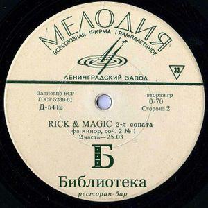 Sonata #2 (part #1) - RICK & MAGIC live @ Biblioteka 25.03.2016