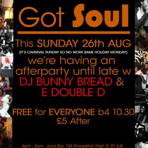 Got Soul LIVE Recorded Set (Aug)