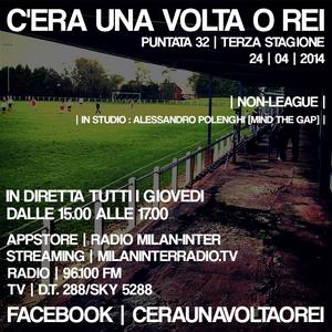 """Stagione 3. Puntata 32. """"Non-League"""" con Alessandro Polenghi."""