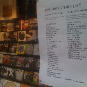 Hillcock's Sister Ray Record Store Day 2010 Mix