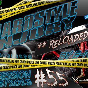 E Razer – Hardstyle Injury * Reloaded * Live #55 | 23/05/13