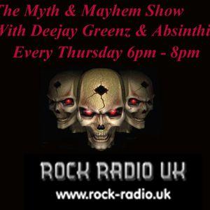 Deejay Greenz & Absinthia's Myth & Mayhem Show 04 04 2019 1800 -2000