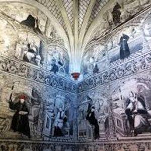 Pintura mural del Convento de Actopan
