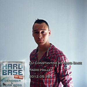 DJ Constantine - Guest Mix @ Hard Base Show (Radio Halley) 2012-05-18