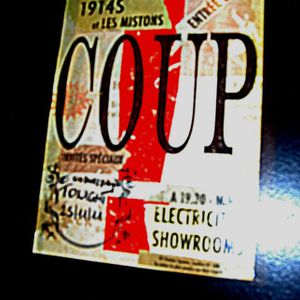 """Coup!"" at Electricity Showrooms 26.10.2011 - Set1"