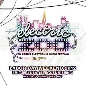 Nicky Romero @ Electric Zoo 2012 (New York City) – 31-08-2012