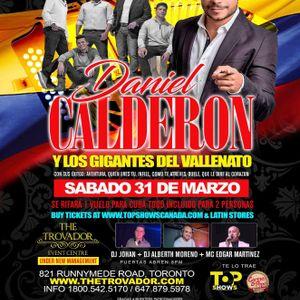 DANIEL CALDERON Y LOS GIGANTES PROMO BY DJ_JOHAN