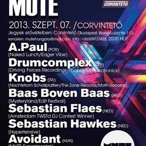 Drumcomplex @ Mute / Corvinteto in Budapest / hungary 07.09.2013