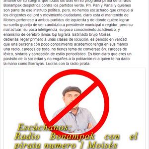 """Audio Del 13 De Marzo Del 2014 Programa De Radio """"Sin Pelos En La Lengua"""" Con Moy Montes"""