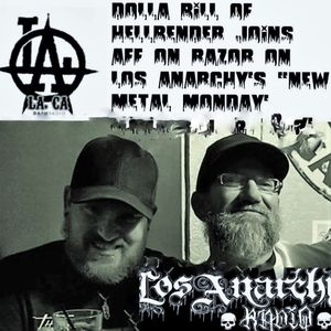 """Dolla Bill on Los Anarchy radio with Andy """"Freakin"""" Ford      TOF4LIFE!!"""