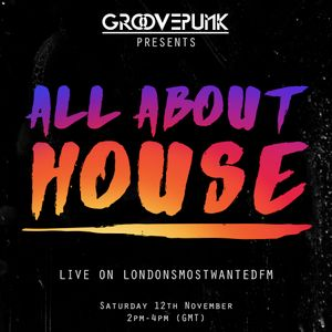 ALL ABOUT HOUSE - Live on LMW.FM - 12/11/2016
