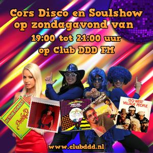 Cors Disco en Soulshow van 6 april op Club DDD FM