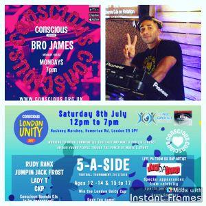 Bro James - Monday Mixdown Show - 26.06.2017