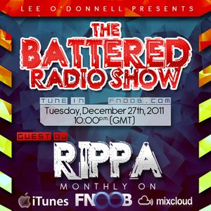 Rippa -  Battered  December Radio Podcast - Guest Mix (Techno)