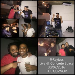 Ray Juss Live @ Concrete Space 30.07.16