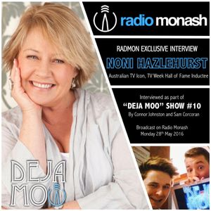 RadMon Exclusive Interview: Noni Hazlehurst (Show #10)