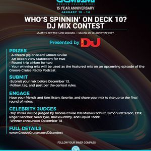 Groove Cruise Miami 2019 DJ Contest Mix: Bmass - Groovin through the