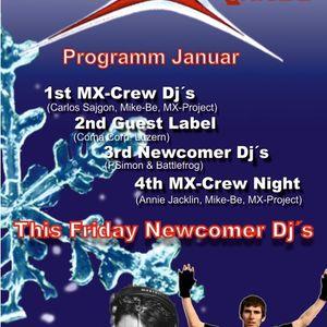 Liveausschnitt vom 20.1.2012 by DJ PSimon, Battlefrog und MX-Project am Funky Business