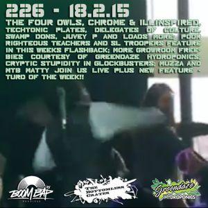 The Bottomless Crates Radio Show 226 - 18/2/15