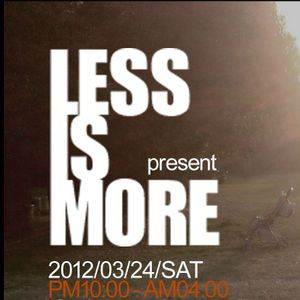 Podcast vol.42 - LESS IS MORE Live recording