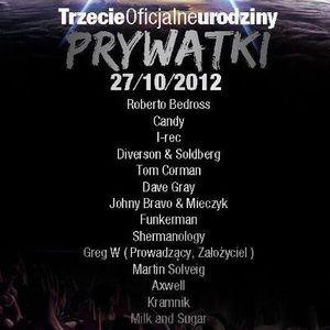 Dave Gray - 3 Urodziny Prywatki ( Radio Sudety 96.4 FM 27.10.2012 )