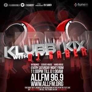 Klubb Kix-DJ SABER-ALLFM96.9-Show026-NYE2016-17