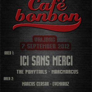 DJ SET MARC&MARCUS CAFE BONBON CLUB HOME AMSTERDAM