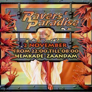 Dj Waxweazle @ Ravers Paradise / Hemkade Zaandam 02/11/1996