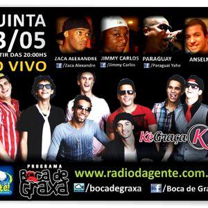 Grupo Ké Graça - Rádio da Gente - Programa Boca de Graxa -  www.radiodagente.com.br