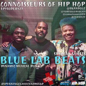 Connoisseurs Of Hip Hop Episode127 Blue Lab Beats & Hip Hop Saves Lives