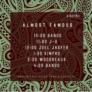 2013 4/5 Almost Famous Kimpro Rare Groove'