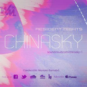 We Must Radio Show #11 - Resident Nights - Chinasky