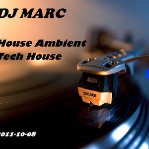 DJ Marc - House-Ambient & Tech-House (2011-10-08)