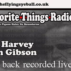 Dale Harvey & Iain Gibson (back 2 back ) my fav things radio show - recorded live pt1