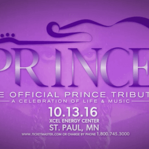 Prince Tribute Concert 10/13/16 St. Paul MN