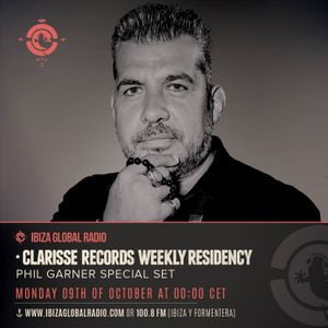 OCT ibiza global radio CLARISSE records Show by Phil GARNER