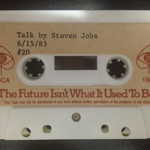 'The Future Isn't What It Used To Be' Talk By Steve Jobs At IDCA 15 Of June 1983