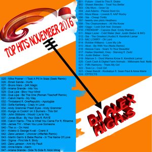 TOP HITS NOVEMBER 2016-DJ ALEX HIGH S