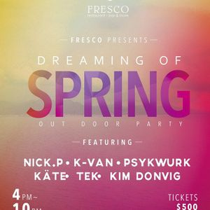 Fresco Special Present ⎯『Dreaming of Spring』- Set by Psykwurk