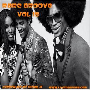 NIGEL B (RARE GROOVE 15)(MALE VOCALS)