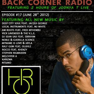 BACK CORNER RADIO: Episode #17 (June 28th 2012)