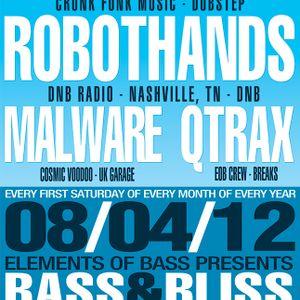 Malware - Live @ Bass & Bliss 08/04/2012