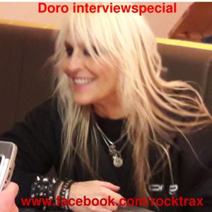 Doro interviewspecial in Rocktrax 18 November 2017 9 - 10 pm CET