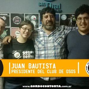 Entrevista a Juan Bautista, presidente del Club de osos de Buenos Aires.