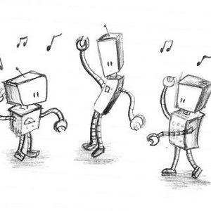 Dancing With Robot's Mixed By Martin Hepburn