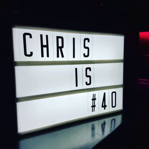 Chris's 25FORTY party live recording